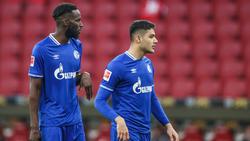 Salif Sané (l.) droht beim FC Schalke 04 eine lange Pause