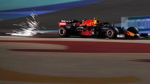 Alexander Albon im Qualifying in Bahrain: Er startet von Position vier ins Rennen