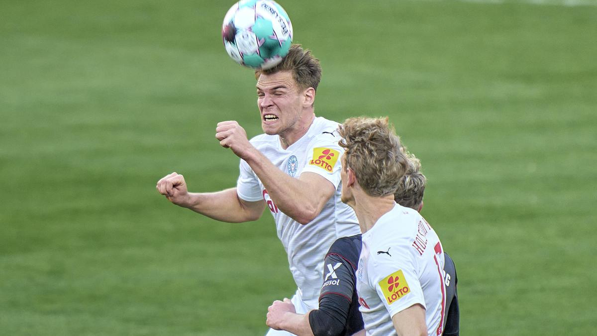 Holstein Kiel und der 1. FC Nürnberg teilten sich die Punkte