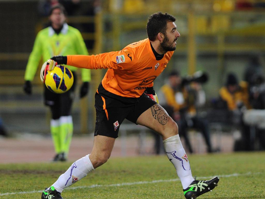 Emiliano Viviano war in der Vorsaison an den AC Florenz ausgeliehen