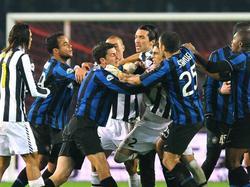 Juventus hatte zwar oft hart zu kämpfen, blieb aber am Ende immer siegreich