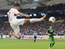Martin Harnik konnte sein Startelf-Comeback gleich mit einem Torerfolg gegen Werder Bremen krönen.