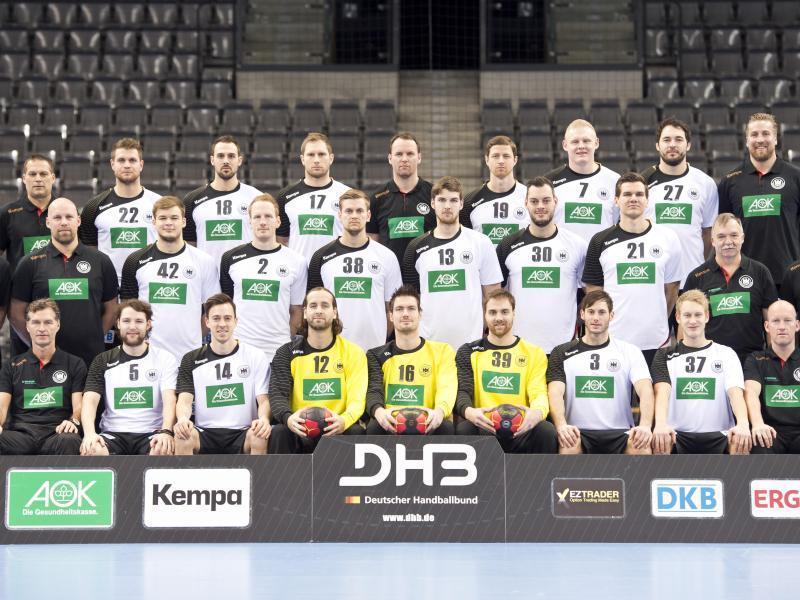Handball Aufstellung