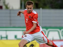 Philipp Sittsam und das ÖFB-U17-Team fahren zur EM