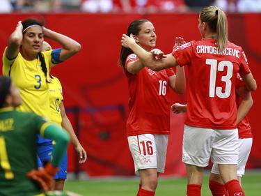 Las sudamericanas cayeron con estrépito 10-1 frente a Suiza. (Foto: Getty)