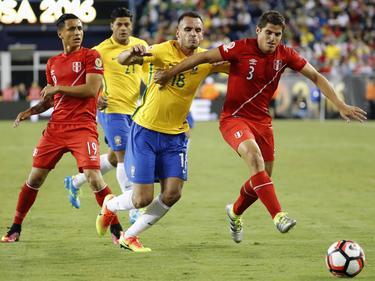 Schnelles Aus für Brasilien und Renato Augusto (M.)