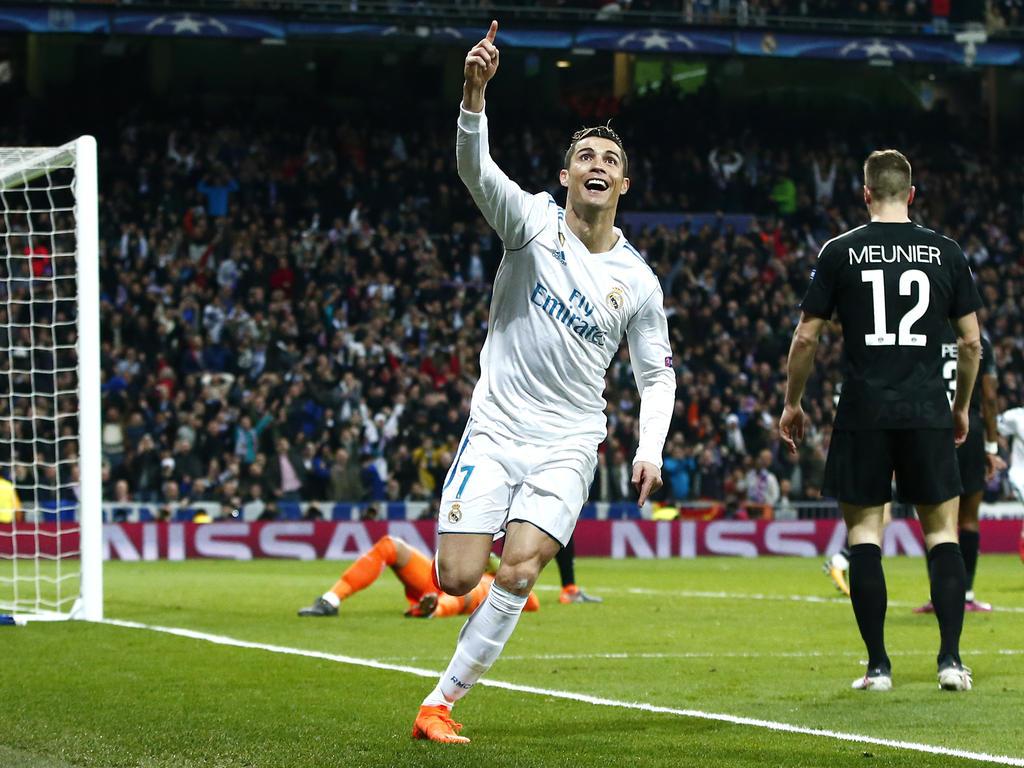 Cristiano Ronaldo war einmal mehr der entscheidende Faktor: Der Portugiese traf beim Hinspiel gegen PSG doppelt