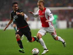 Konstantinos Laifis (l.) könnte von Standard Lüttich zu Werder Bremen wechseln