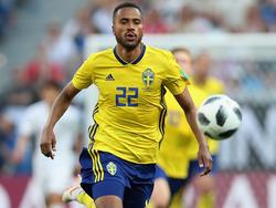 Isaac Kiese Thelin trifft mit Schweden am Samstag auf die deutsche Mannschaft