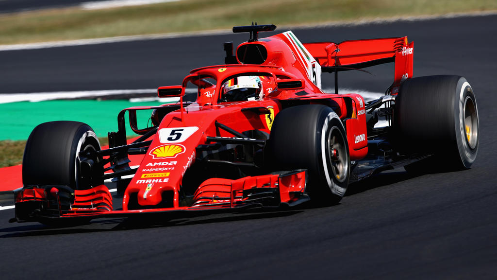 Sebastian Vettel überraschte im zweiten Training mit der Bestzeit