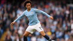 Steht vor eine Verlängerung bei Manchester City: Leroy Sané