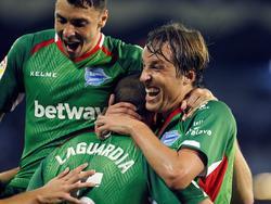 Tomás Pina celebra su gol con su equipo. (Foto: Getty)