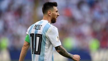 Könnte mit Argentinien zum Länderspiel in Dresden antreten: Superstar Lionel Messi