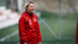 Martina Voss-Tecklenburg blickt positiv auf die WM