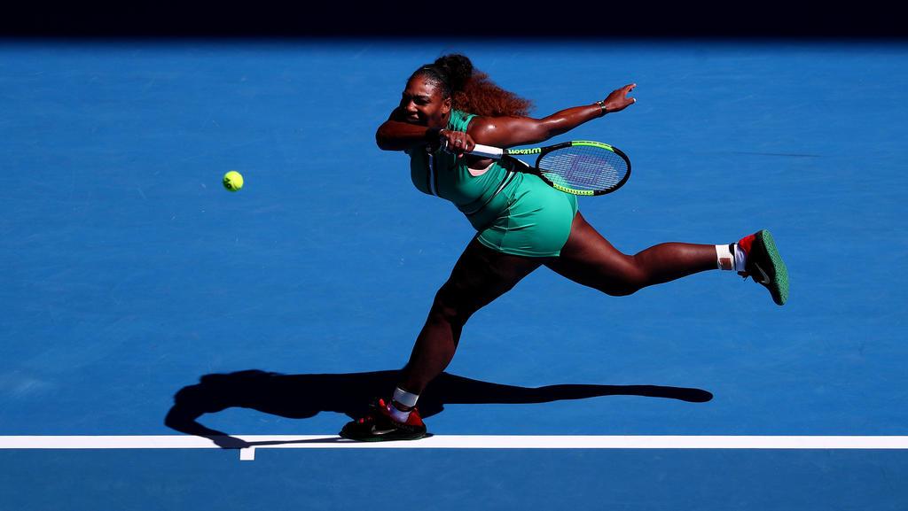 Serena Williams steht im Viertelfinale der Australian Open