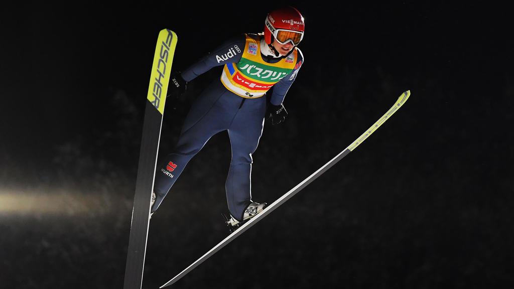 Althaus landete in Lillehammer in der Qualifikation auf Rang zwei