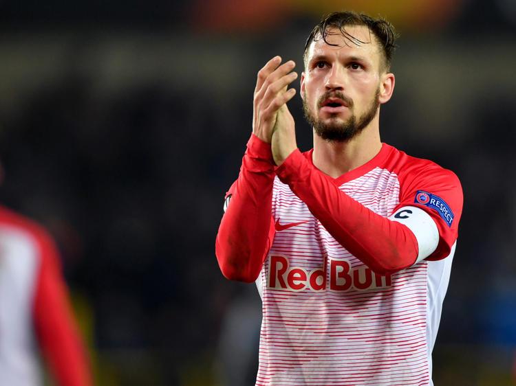 Kapitän Andreas Ulmer musste in Brügge Salzburgs erste Pflichtspielniederlage der Saison verdauen
