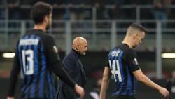 Inter Mailand musste sich Eintracht Frankfurt geschlagen geben