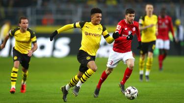Image result for German Bundesliga: Sancho sends Dortmund to top of table