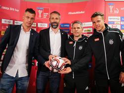 Salzburg und Rapid kämpfen in Klagenfurt um den Cuptitel