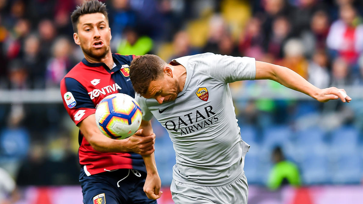 AS Rom patzt gegen den FC Genua