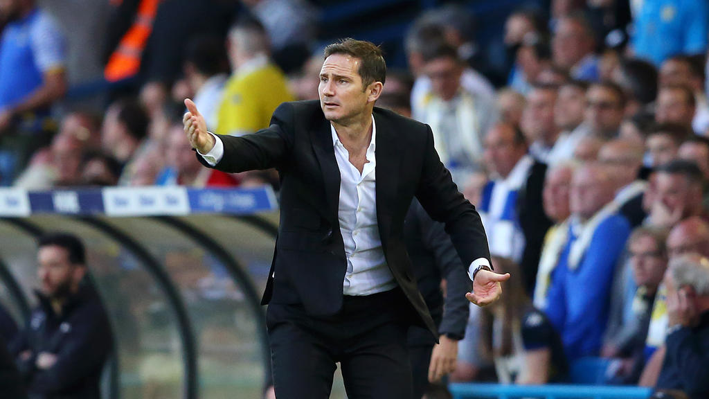 Frank Lampard trainiert den Zweitligisten Derby County