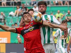 Altach behielt gegen Rapid mit Debütant Patrick Obermüller die Oberhand
