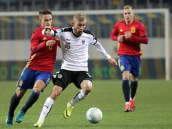 Österreich gegen Spanien