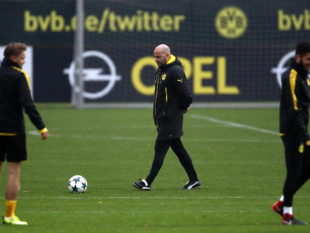 BVB-Trainer Peter Bosz steht in der Kritik