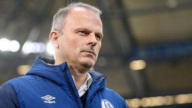 Schalkes Sportvorstand Jochen Schneider hofft auf den Transfer