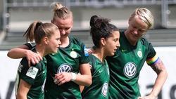 Wolfsburg setzte sich am Sonntag beim MSV Duisburg mit 6:1 durch