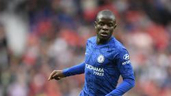 N'Golo Kanté es un auténtico pulmón para la medular del Chelsea.