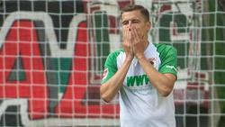 Der FC Augsburg muss auf Alfred Finnbogason verzichten