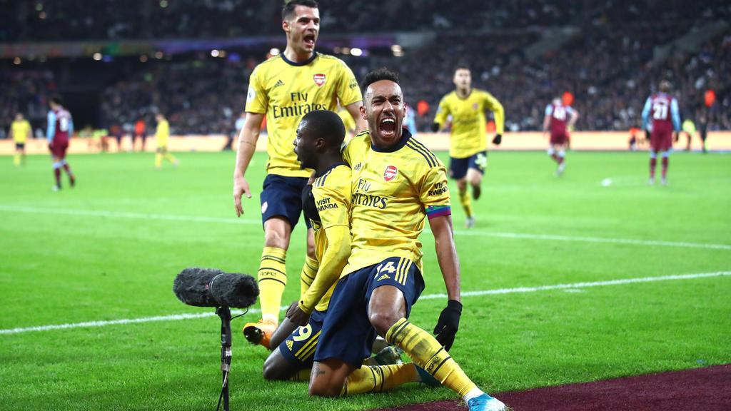 FC Arsenal gewinnt Londoner Derby in der Premier League