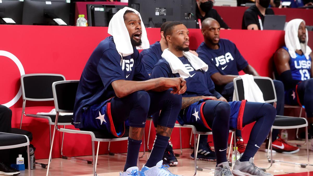 Die US-Basketballer blamierten sich gegen Frankreich
