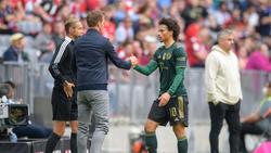 Leroy Sané traf per Freistoß zum 1:0 des FC Bayern gegen den VfL Bochum