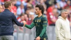 Leroy Sané vom FC Bayern wurde ausdrücklich gelobt