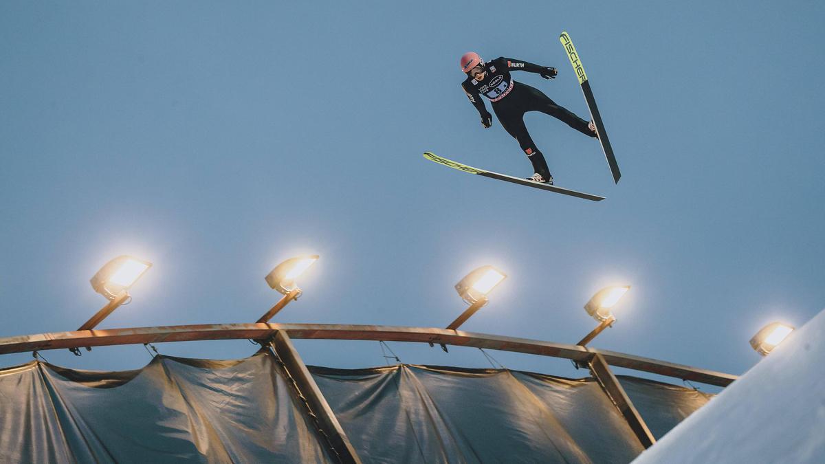 Die Skispringer können am Sonntag nicht in der Qualifikation antreten