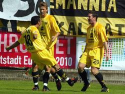 Freude im DFB-Pokal 04/05
