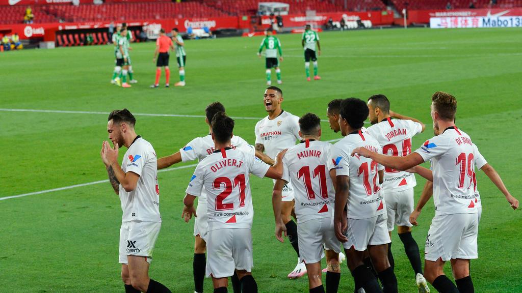 塞维利亚,西甲,塞维利亚击败贝蒂斯三个月后,西甲恢复比赛