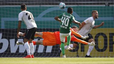 Joao Victor (M.) traf gegen Fürstenwalde doppelt
