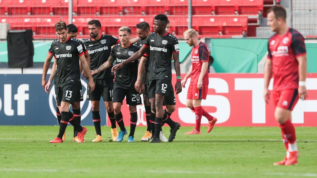 Bayer Leverkusen hat Eintracht Norderstedt vom Platz gefegt