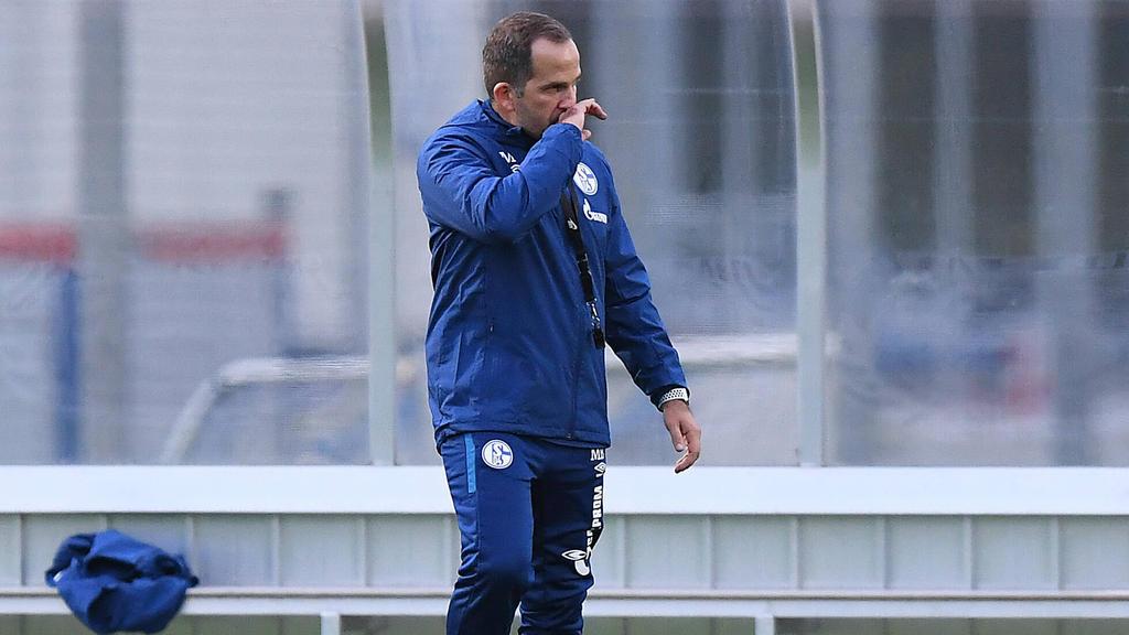 Manuel Baum ist der 47. Trainer des FC Schalke 04