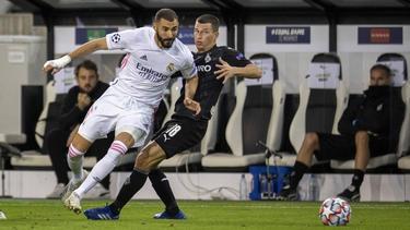 Karim Benzema teilte im Spiel gegen Gladbach verbal aus