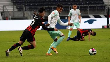 Remis zwischen Eintracht Frankfurt und Werder Bremen