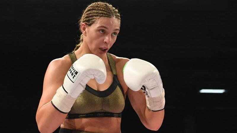 Christina Hammer ist neue Supermittelgewichts-Weltmeisterin der WIBF
