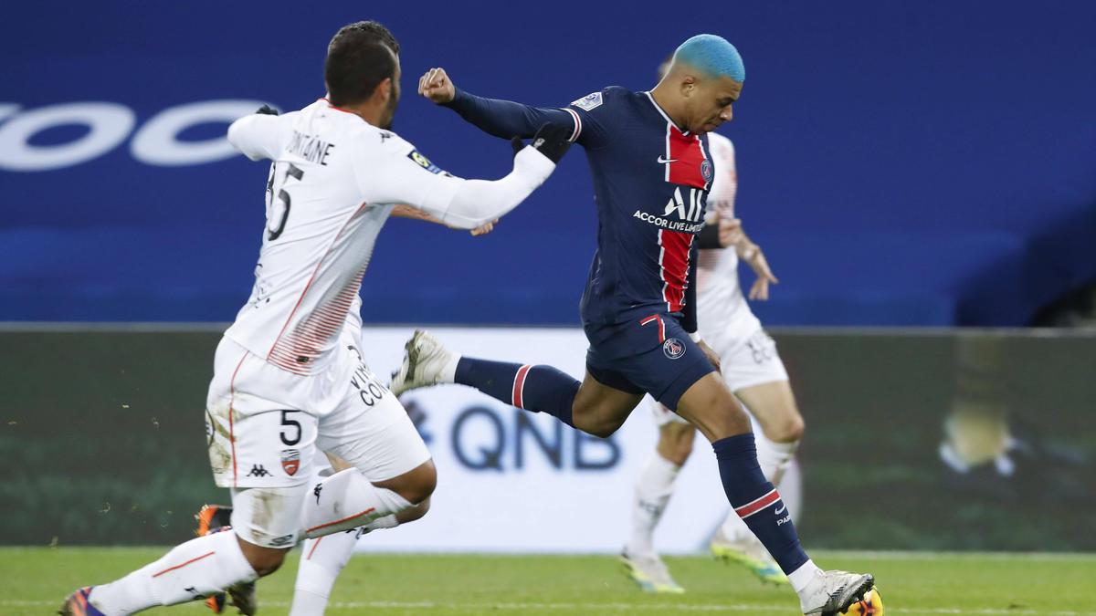 Fiel nicht nur wegen seiner Frisur auf: Kylian Mbappé