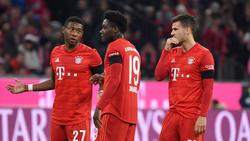 Flicks Defensiv-Optionen beim FC Bayern: Alaba, Davies und Hernández