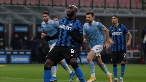 Romelu Lukaku traf doppelt für Inter gegen Lazio