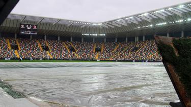 Im Udine-Stadion wird ein neues System getestet